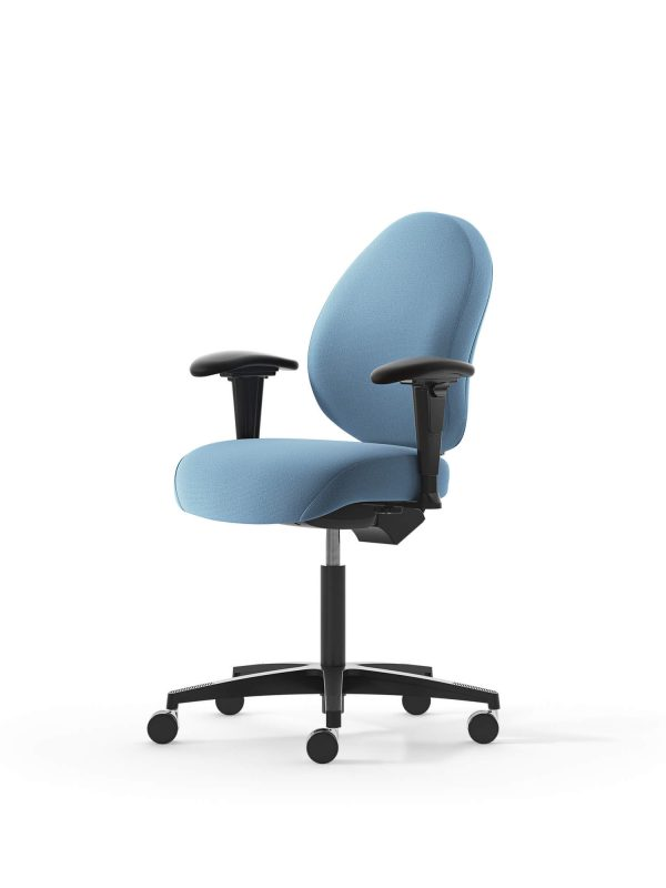 Malmstolen R3 kontorstol medium ryg