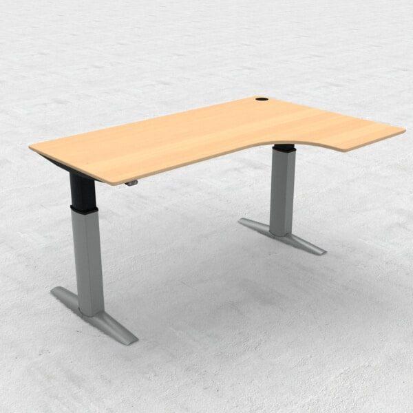 ConSet Hæve sænkebord 501-23 L-form